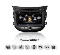 A8 CPU 1G 1080 HD Car DVD 3G Player Navi Radio RDS PIP  6V-CDC for Hyundai HB20  free map +free shipping