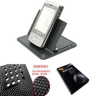 Car navigation universal mount belt the magic silica gel tablets slip-resistant auto supplies universal gps mobile phone holder