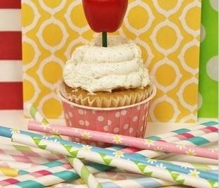 Free shipping  Environmentally  paper straws  wedding birthday ideas Furnishing straws paper straws(1000 pcs/lot)