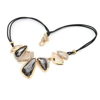 FashionGothic Vintage Women Party Statement Hollow Faux  Necklace Collar 61888-61889