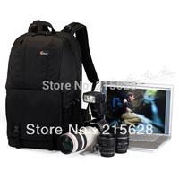 """Freeshipping Lowepro Fastpack 350 DSLR Digital SLR Photo Camera Bag double-shoulder Backpack&Laptop 17 """" computer bag+rain cover"""