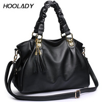 New year women's handbag 2012 autumn and winter tassel one shoulder cross-body fashion all-match bag