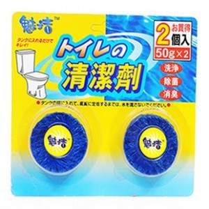 Solid toilet bowl cleaner toilet automatic 2 cleanser