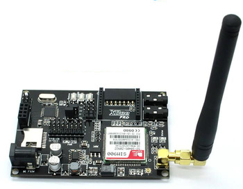 Free shipping! 1pcx GSM / GPRS expansion board SIM900 module mega328 development board with antenna