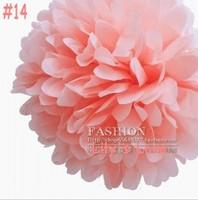 "50pcs 10cm/4"" Pom Poms Ball-Tissue Paper Pom Poms Flower Weddings, Woodland, Modern Vintage, Decorations #14"