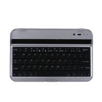 Free shipping Aluminum Bluetooth Wireless Keyboard for SAMSUNG P3100/P6200 Galaxy Tab2 7 inch