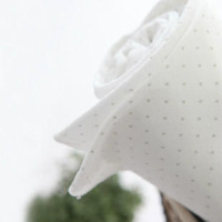 Soft 100% cotton cloth knitted baby cotton cloth fabric cloth polka dot series