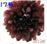 "80pcs 10cm/4"" Pom Poms Ball-Tissue Paper Pom Poms Flower Weddings, Woodland, Modern Vintage, Decorations #17"