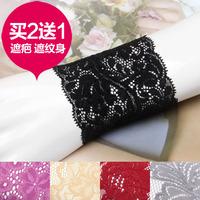 Free ship Short design lace wrist support oversleeps wrist length sleeve scar semi-finger lace gloves fashion women wrist gloves