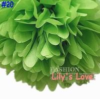 "80pcs 10cm/4"" Pom Poms Ball-Tissue Paper Pom Poms Flower Weddings, Woodland, Modern Vintage, Decorations #20"