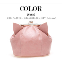 2013 cat ears day clutches mini bag handbag shoulder bag