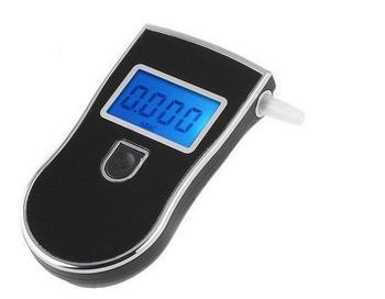 Free Shipping Prefessional Police Digital Breath Alcohol Tester Breathalyzer