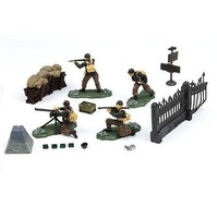 free shipping ! FOV 83009 1:32 WWII U.S. Army 1st Infantry Division soldiers set  model