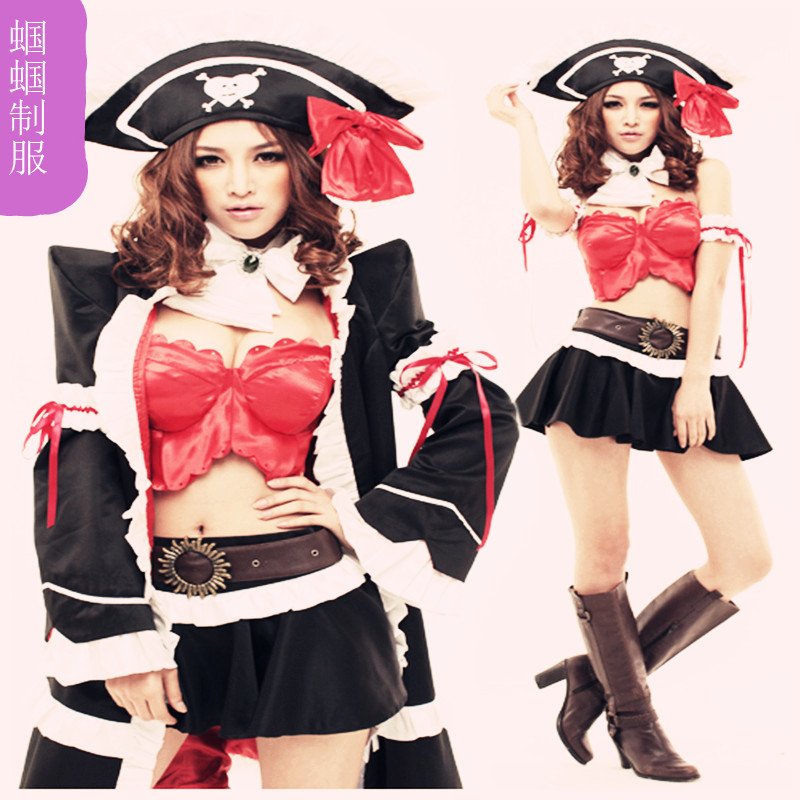 High quality adult halloween queen game service costume(China (Mainland))