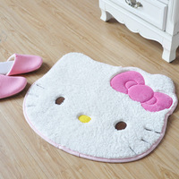free shipping home cartoon carpet hello kitty non-slip mat  60*50cm