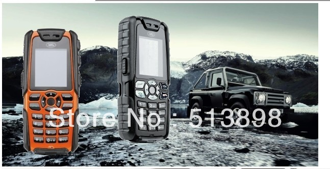 free shipping S8 mobile Phone; LONG Standby Quad band waterproof shockproof dust proof fm bluetooth AT&T t-mobile cell phone(China (Mainland))