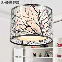 Lighting fashion modern pendant light bedroom lamp living room lights acrylic pattern lamp lamps pl7040  free shopping