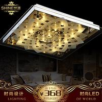 Modern Super toughened glass  led crystal lamp ceiling light  520mm  bedroom lamp free shipping