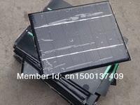 HOT SALE 2W 6V Solar Cell Solar Panel DIY&Test Solar System Polycrystalline Solar Cell Panel Wholesale 12pcs/lot Free shipping