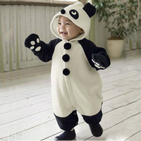 free shipping Children's clothing baby boys and girls clothes baby romper 2014 spring romper wadded jacket set