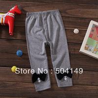 free shipping Wholesale baby leggings girls white/gray pants/leggings kids trousers  5pcs/lot