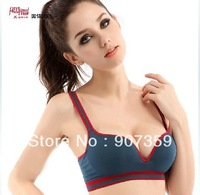 Fashion Push Up Sport bra High Quality Lady's Running Yoga seamless bra underwear 6 colors Free Shipping  3pcs/lot