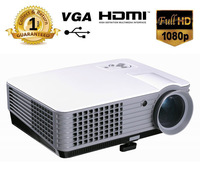 Full HD 1080P Projector 2200 Lumens Contrast 1000:1 Video Projector LED