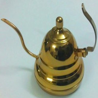 Stainless steel long thin mouth special plating gold pot induction cooker/European tea pot, tea to burn boiled the kettle