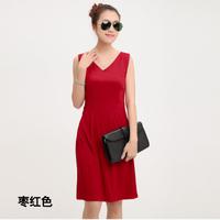 2013 spring and summer women's ol slim basic tank dress one-piece dress tank dress