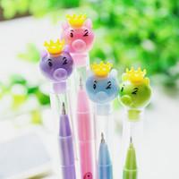 Korea stationery ballpoint pen cartoon young girl pig flying apsaras unisex pen pig pen