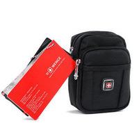 Genuine Swiss Army Brands Men Waist Packs outdoor leisure bag Korean version of mobile phone bag wholesale, free shipping