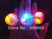 free shipping Led Light Flash   barbed ring Thermoplastic Elastomer Rubber
