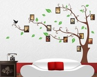 Hot Sale  90*60cm Memory Photo Tree Wall Stickers Decor Decals Art Sitting Room