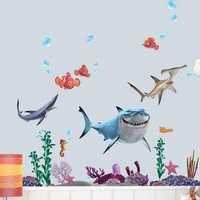 Hot Sale  FINDING NEMO Wall Sticker Decor Decals Removable Vinyl Nursery Kids Room