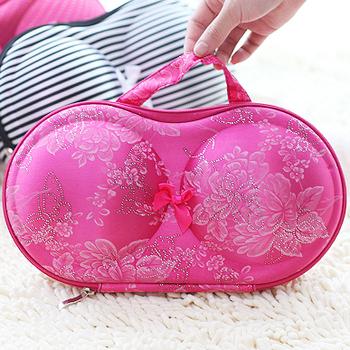 Travel Portable Underwear Covered Bra Network Storage Box Storage Bag For Bra