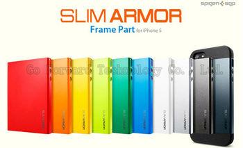 New Style Fashion Slim Armor Spigen SGP Case for iphone 4 4s, Hard Back Cover SGP Case for iphone 4 4s with Retail Box 12pcs/lot
