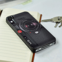 For iPhone 5 5S New Leica Camera PATTERN plastic (PC) Hard Back Case Cover Skin