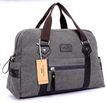 British USA retro canvas shoulder bag men women large hand travelling bag luggage trolley travel bag large capacity