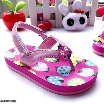 FREE SHIPPING Steps summer child flip girls  female sandals slippers flip flops   boy girl baby  shoes