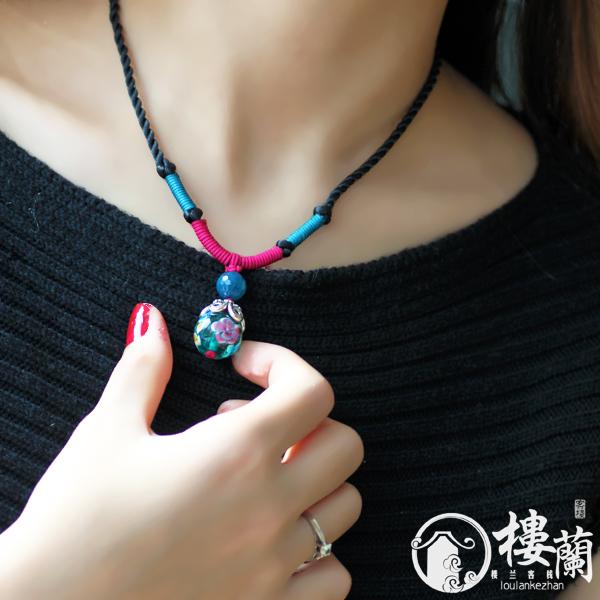 سلاسل ملونة اخر صيحة 2014 National-day-jewelry