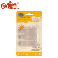 Rikang rk-3504 dactylotheca toothbrush teeth 3 silica gel brush baby toothbrush newborn