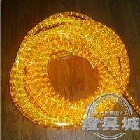 Neon orange band belt light tank flat three wire band yellow lamp belt