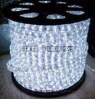 Rainbow tube neon lamp led strip ribbon bineme round line white light 24 beads