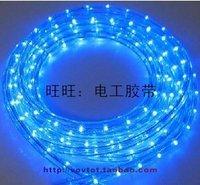 Rainbow tube neon lamp led strip ribbon bineme round line blue light 24 beads