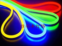 Bright 100 beads transparent flexible neon contour light style lamp