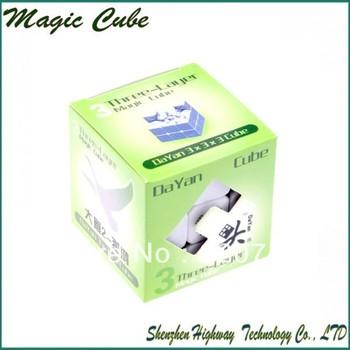 New DaYan  GuHong  V2 Dayan Cube Magic Cube Puzzle Cube 6 color  FREE SHIPPING 1PCS/LOT!