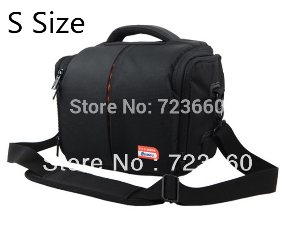 Digital SLR Camera Lens Case Bag S Size inside 230mm * 130mm * 190mm for Canon Nikon Sony PENTAX OLYMPUS Samsung Panasonic(China (Mainland))