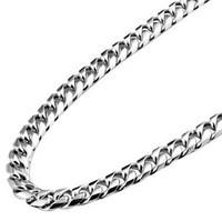 Tungsten bars and rods fashion corrugated steel personalized fashion male necklace men's Men male chain fashion heterochrosis