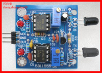 Infrared sensor module avoidance obstacle avoidance module with adjustable distance tracing output indicates 1-80CM