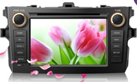 Toyota Corolla Android DVD;7 inch 1024*600  3G; Android 4.0 UHD 1024*600 APP  WiFi S4 1.2GHZ GPU Adreno203